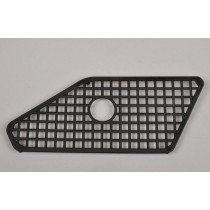 Plastic window mesh/grid left