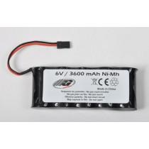 Receiver battery 6.0v 3600 mAh
