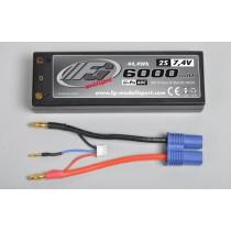LiPo battery type 2s 7.4v 6000 mAh 60C
