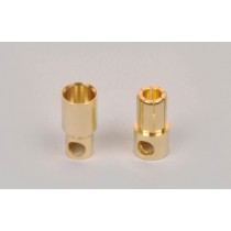 8mm gold battery/motor connection, 2pcs