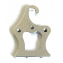 Support for master cylinder and fuel tank, 2 pcs.