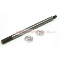 Shock shaft long with screw connection BX-1, BX-2, 1pc