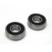 Smooth running wheel bearing small, 8x19x6mm, 2 pcs.
