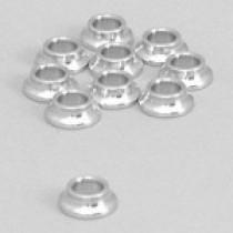 Alloy spacer 3,5 mm/M5, 10 pcs.