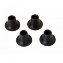 Steel spacer 10,5 mm, bore 5mm 4 pcs.