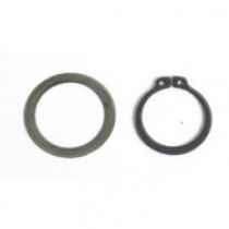 Snap ring & shim for clutch bell pinion