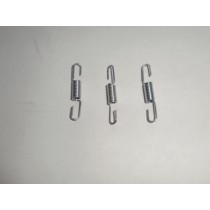 Springs for Hurrican exhaust 3pcs.