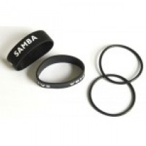 Silicon rings for Samba pipe with Orings, set