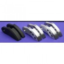 Carbon/alloy shoes for Power Gearshift system, set