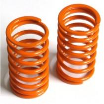 Spring long (rear) Big Bore progressive, orange, medium, 2 pcs.