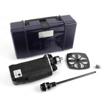Engine E-Starter with carbon fan wheel cover and adaptor nut, set
