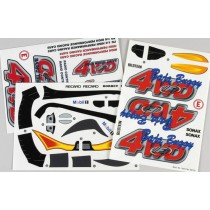 Off road buggy decal set
