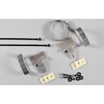 Steel power pipe fitting kit