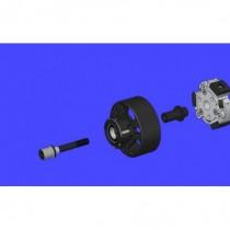 Clutch bell upgrade option