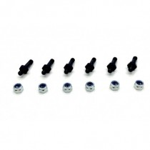 Kit to secure shocks with nuts, 6pcs.