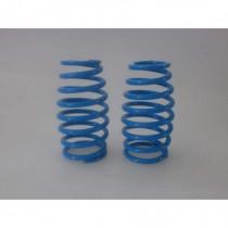 Big Bore Damper Progressive Short Spring Light Blue 2.7mm 8.5 coils 2pcs
