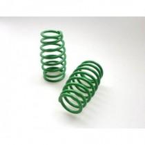Big Bore Damper Progressive Short Spring Fluorescent Green 2.65mm 8 coils 2pcs