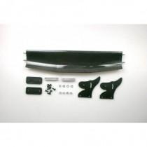 Carbon Adjustable Rear Wing DTM 1 set