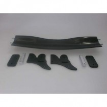 Carbon Curved Rear Wing 1set