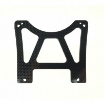 Exhaust Support Plate Carbon XR-XR2-XR3R 1pc