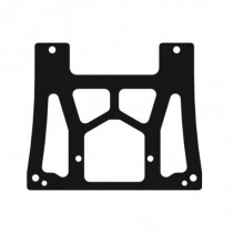 Exhaust Support Plate Carbon XR4 PLUS 1pc