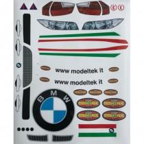 BMW 320 Decals