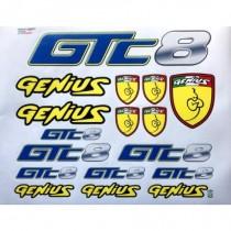 Genius Decals GTC8, 1pc
