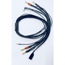 Charge Lead 4mm +TX, 60cm