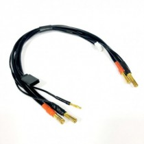 Battery charger lead 4mm 2S, 30cm