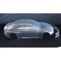 Alfa Romeo 156 Bodyshell 1.5mm Clear Lexan 530/535mm, 2pcs