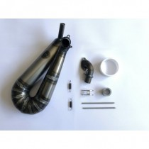 Best pipe Steel touring car exhaust